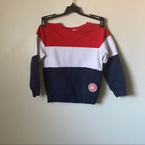 Red white and Blue Boys Sweater